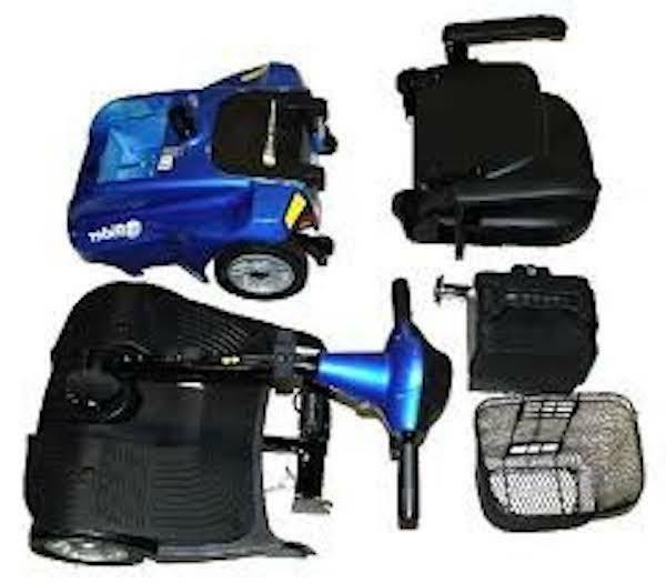 EV Rider 4 Wheel Travel Scooter Color Choices