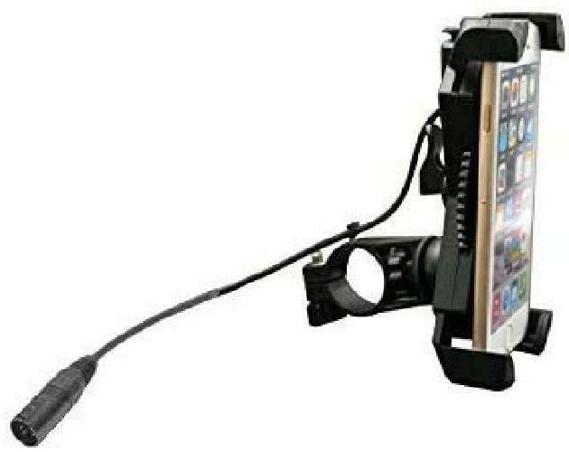 mobile phone holder with usb charger