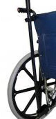 Mobility Cane or Crutch holder for Wheelchair Manual Walkers