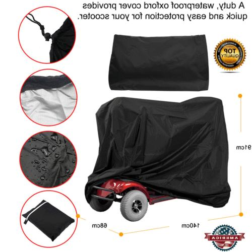mobility scooter storage cover wheelchair waterproof rain