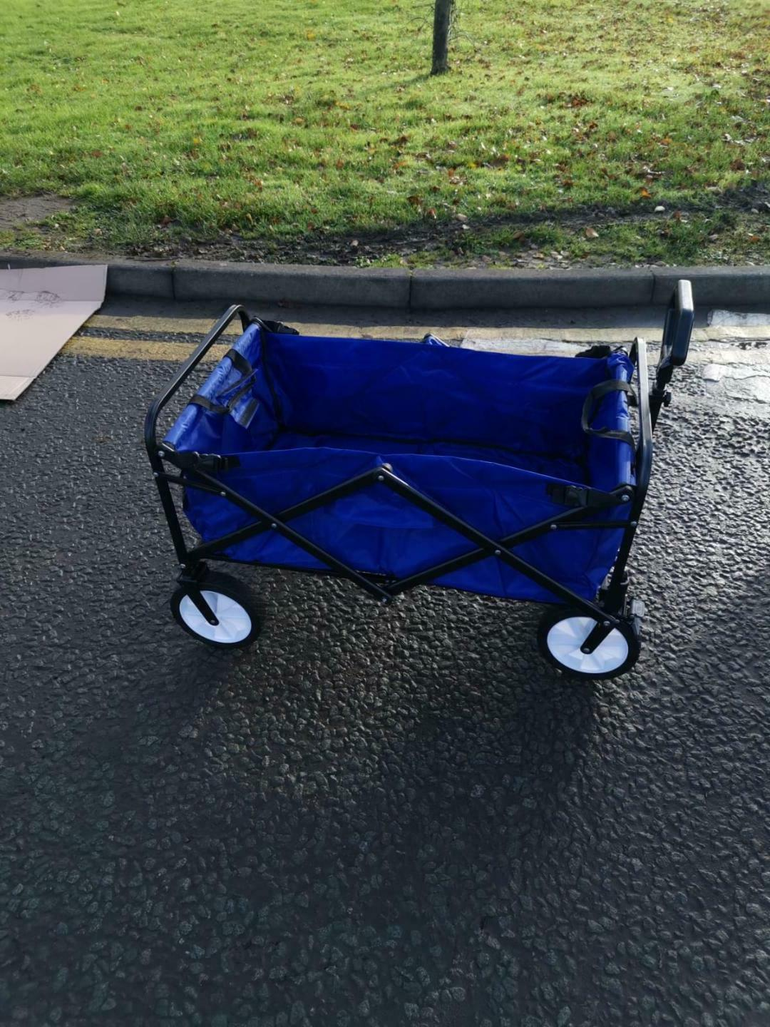 Mobility Scooter Bar/Hitch with Shopping Cart
