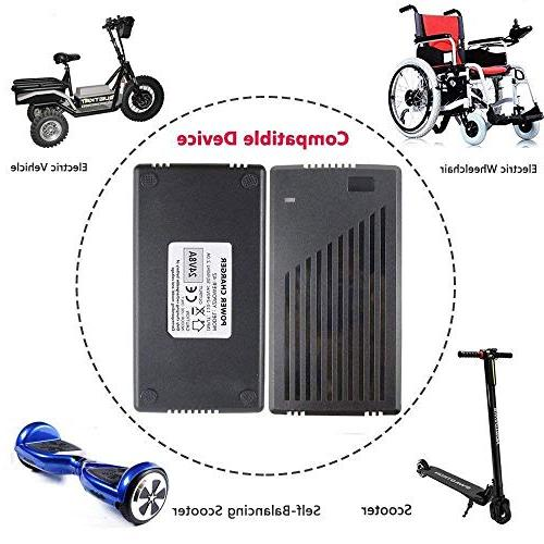 Abakoo Amp Mobility Wheelchair Battery Charger XLR for Sealed AGM, Gel,24BC8000T-1,4C24080, BATC8, Medical, Brand Sunrise Medical,