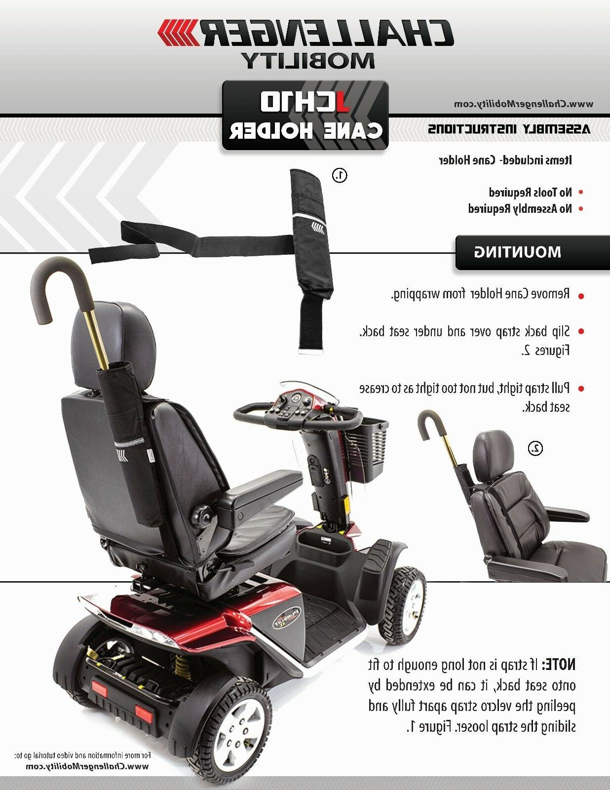 Challenger Nearly Universal HOLDER for Pride Drive Mobility Scooters Powerchairs
