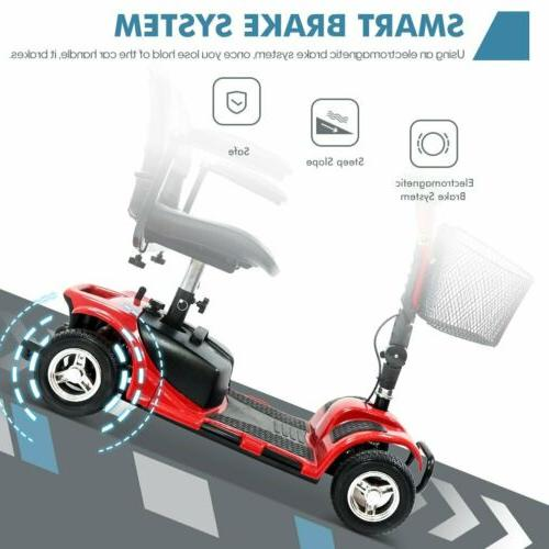 4 Wheel Mobility Scooter Electric Mobile for Seniors Adult