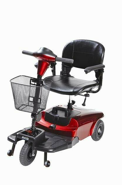 new bobcat 3 wheel compact scooter red