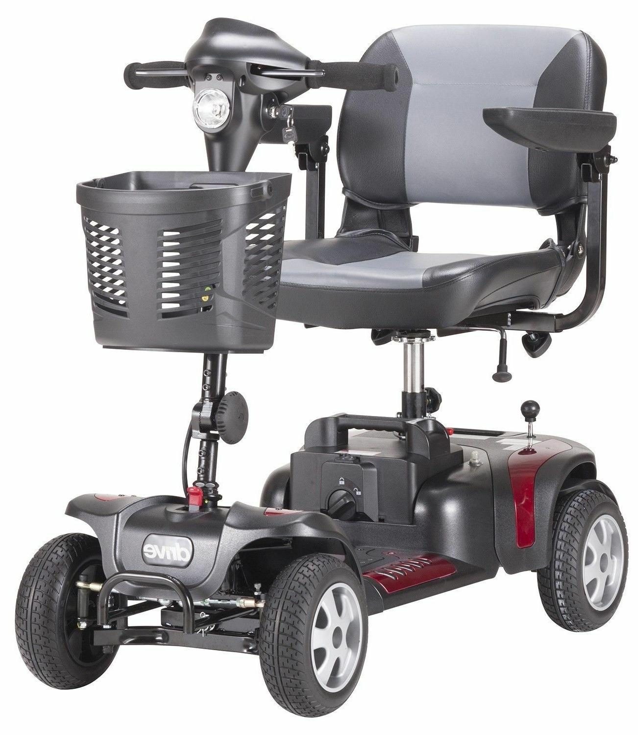New Drive HD4 4 Power Scooter Heavy Portable