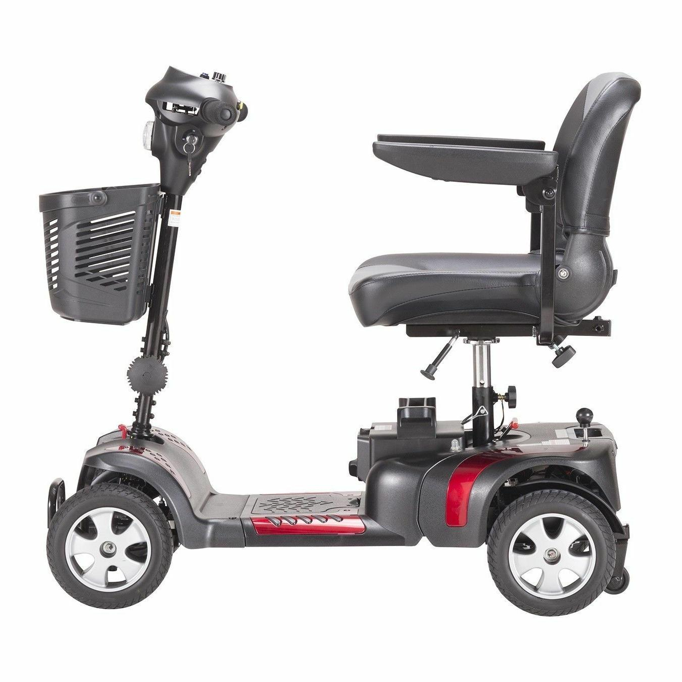New Drive Phoenix 4 Wheel Mobility Scooter Heavy Portable