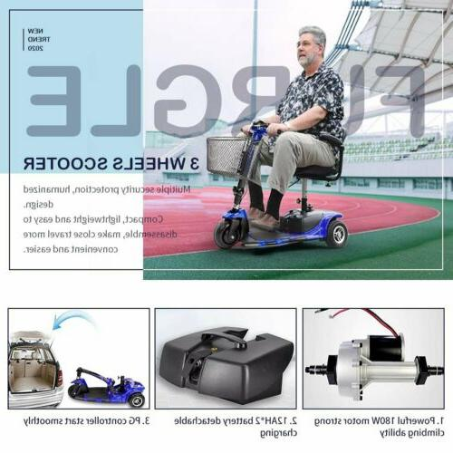 Innuovo Electric for Scooter Heavy Duty Blue