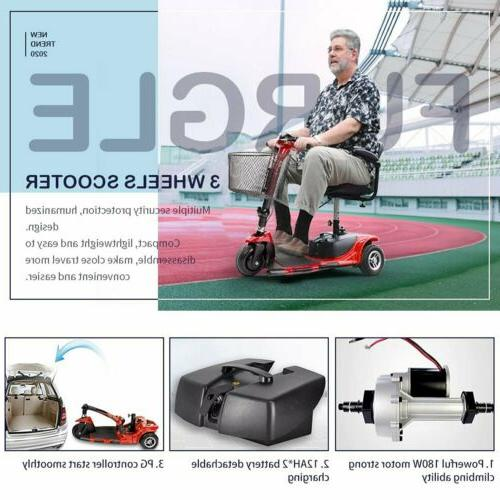 3 Wheel Power Medical Mobility Innuovo Scout