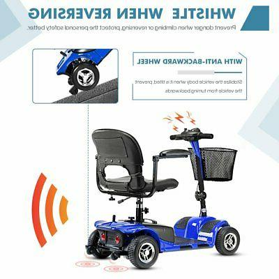 4 Wheel Mobility Scooter - Electric Powered Wheelchair Device