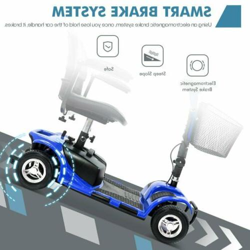 4 Wheel Scooter Medical Mobility Handicap Innuovo Scout