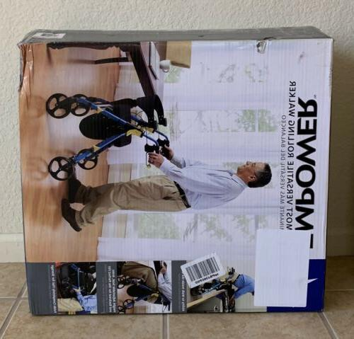 """NEW Folding Mobility Walker with 8"""""""