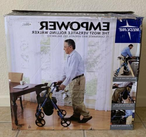 """Folding Mobility Rollator with 8"""" Wheels"""