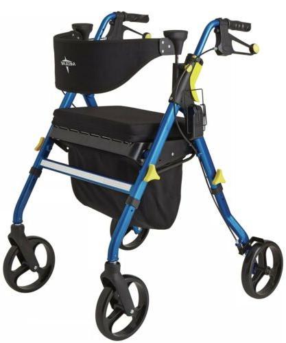 new premium empower folding mobility rollator walker