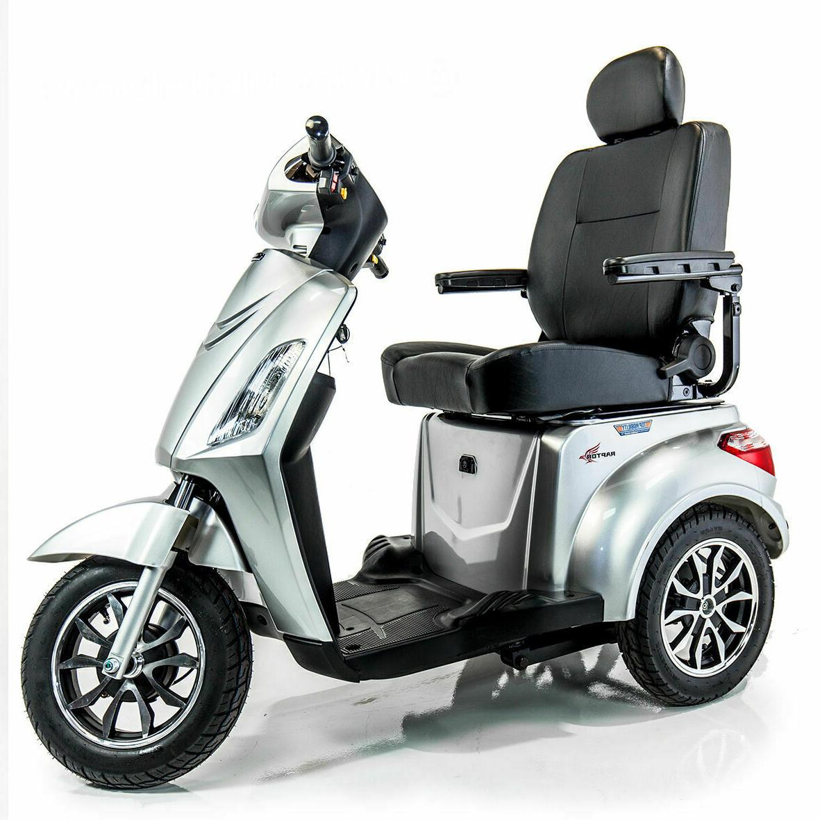 new pride raptor recreational power mobility scooter
