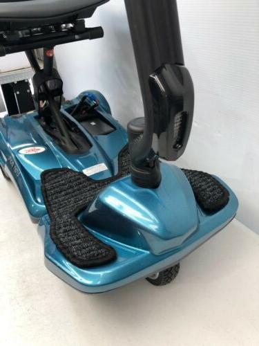 New EV Rider Sea Blue Folding Mobility