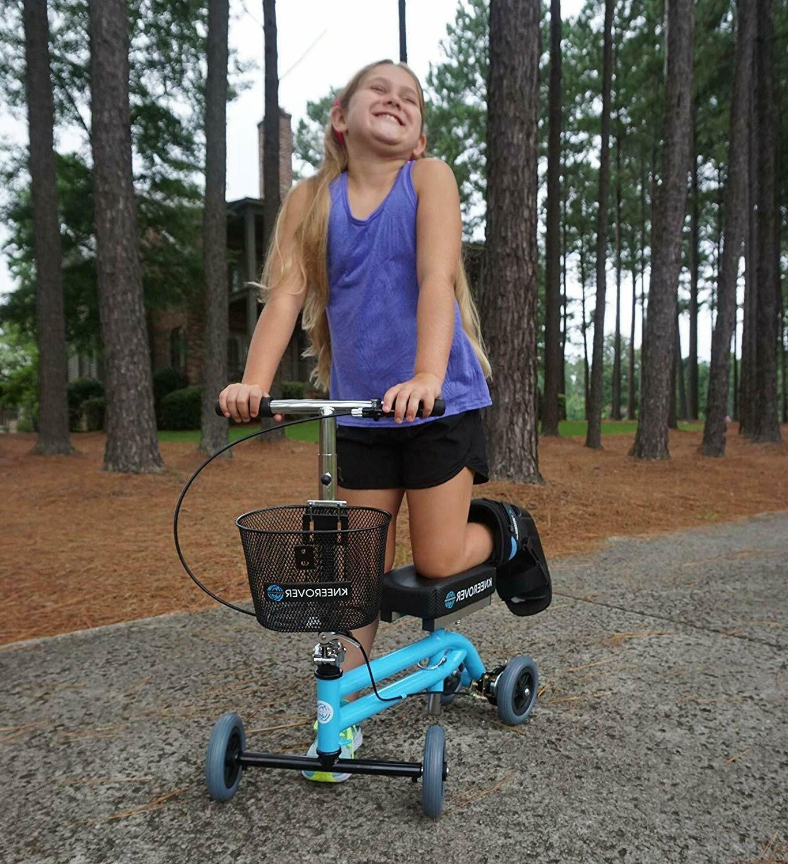 Open Knee Walker Scooter Pediatric Crutch Rover