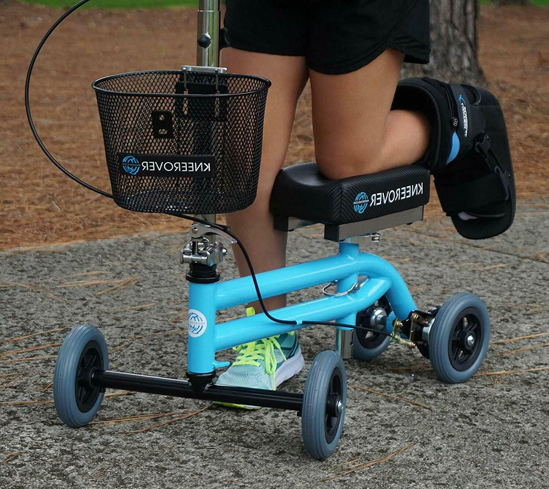 Open Walker Scooter Crutch Rover