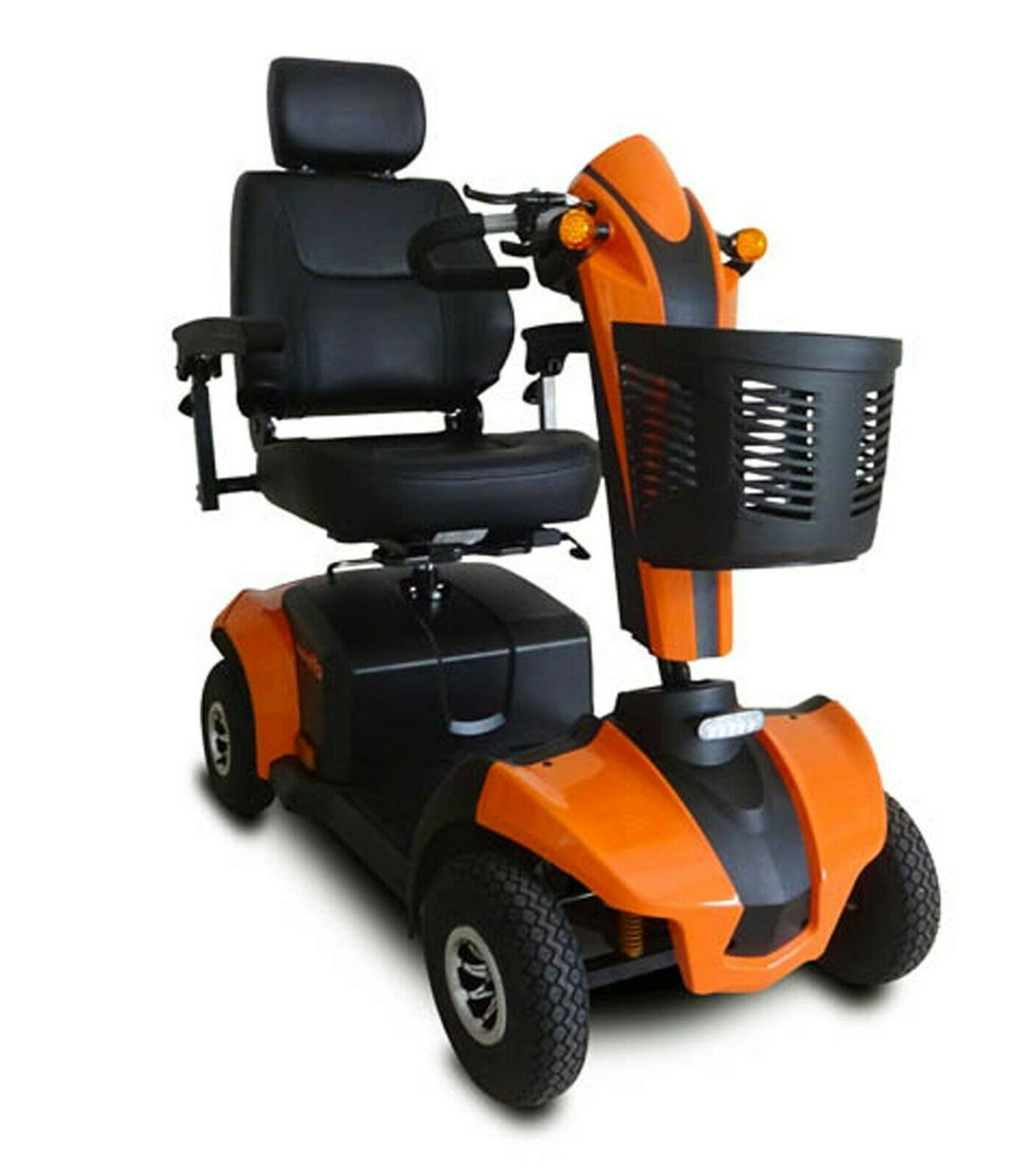 orange cityrider mobility scooter 350 lb cap