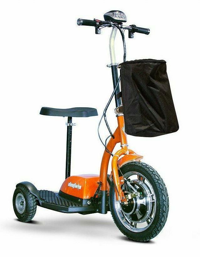 orange ew 18 electric 3 wheel mobility