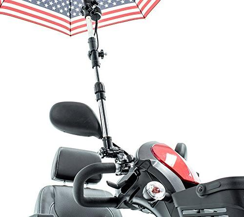 Patriotic Holder J215 Protection for many power wheelchairs