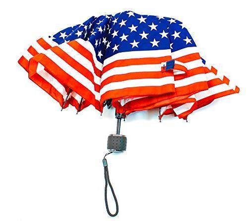 Patriotic Umbrella J215 Rain Protection many power & wheelchairs