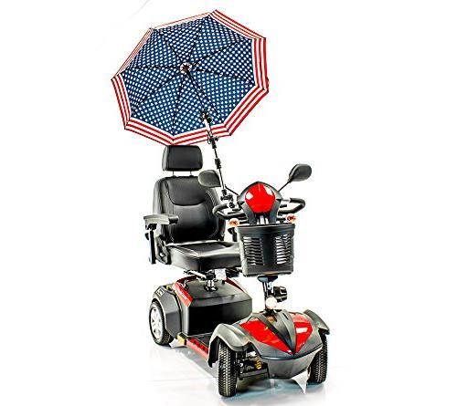 patriotic umbrella holder assembly j215