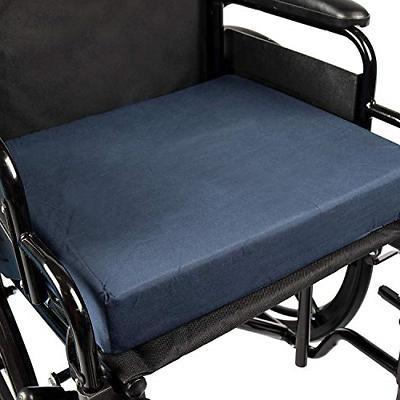 polyfoam wheelchair cushion navy 3 x 16