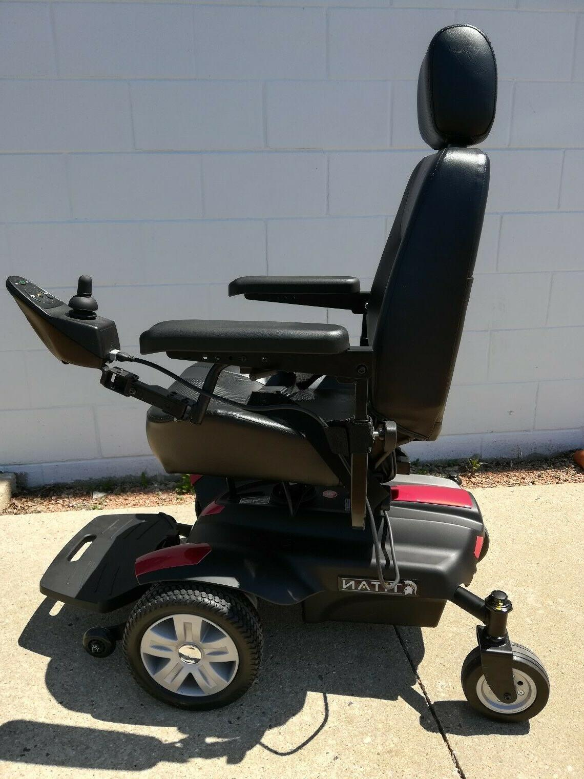 Portable Chair Mobility Scooter Drive Medical Titan