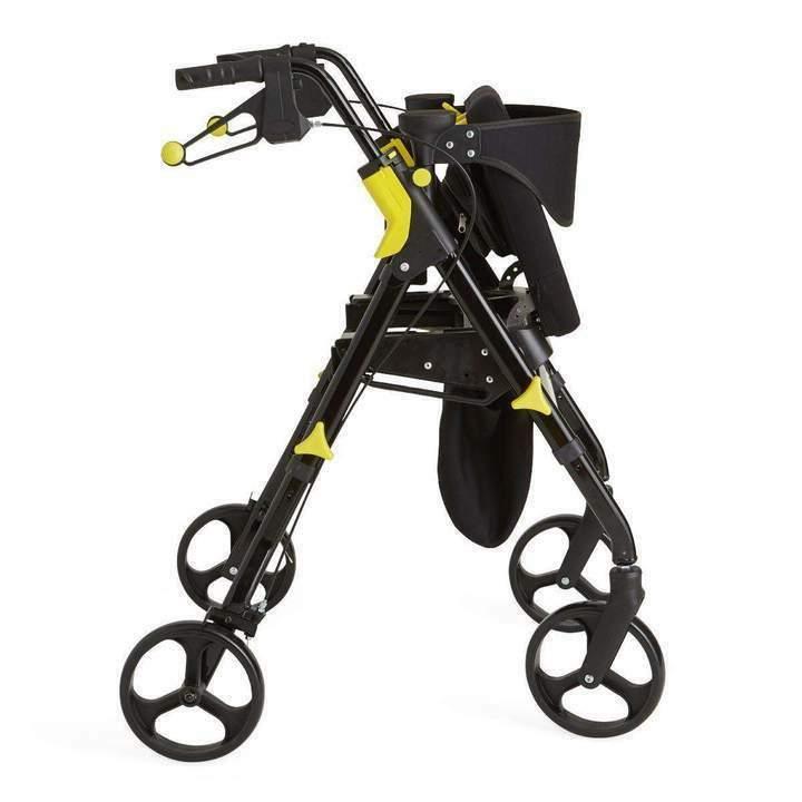"""Medline Premium Mobility Rollator Walker 8"""" Wheels"""