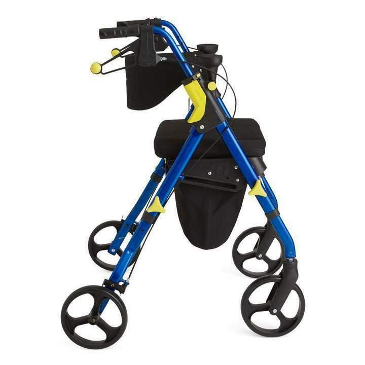 premium empower folding mobility rollator walker