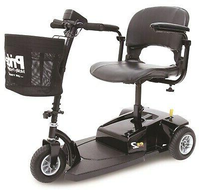 Pride Mobility Go-Go Lightweight Compact Scooter Black NEW