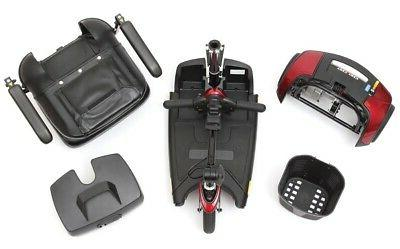 Pride Sport 3-Wheel Electric Battery Travel Scooter NEW