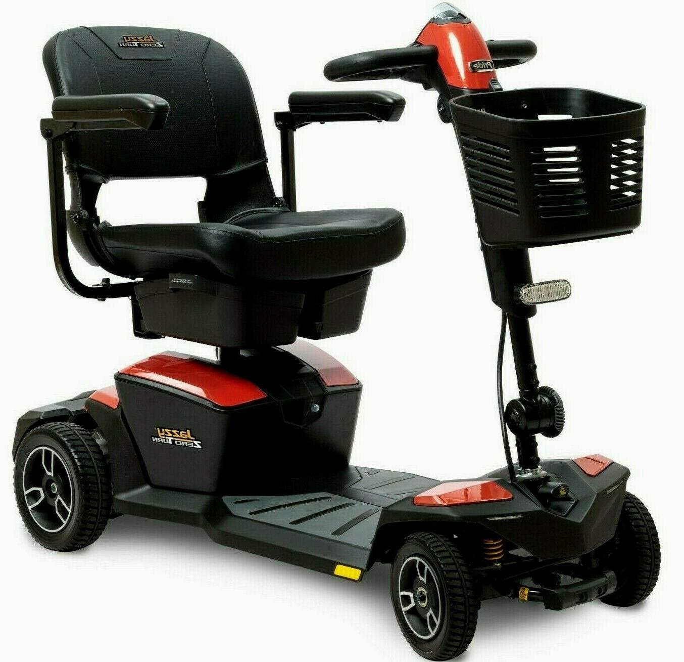 Pride Mobility 4W Power Electric Travel Scooter +