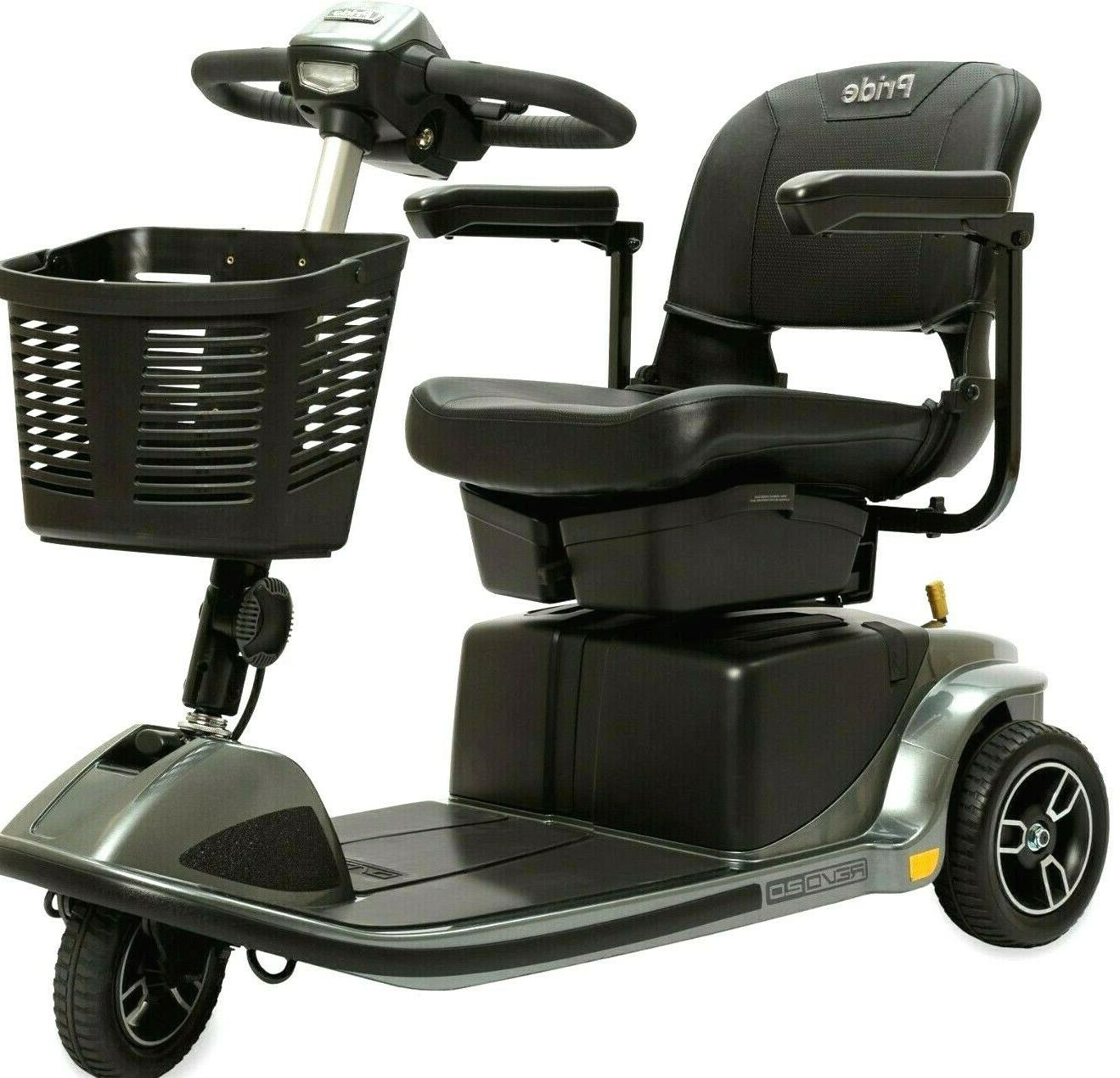 Pride Mobility 3W Electric Scooter 375lbs. Accessories