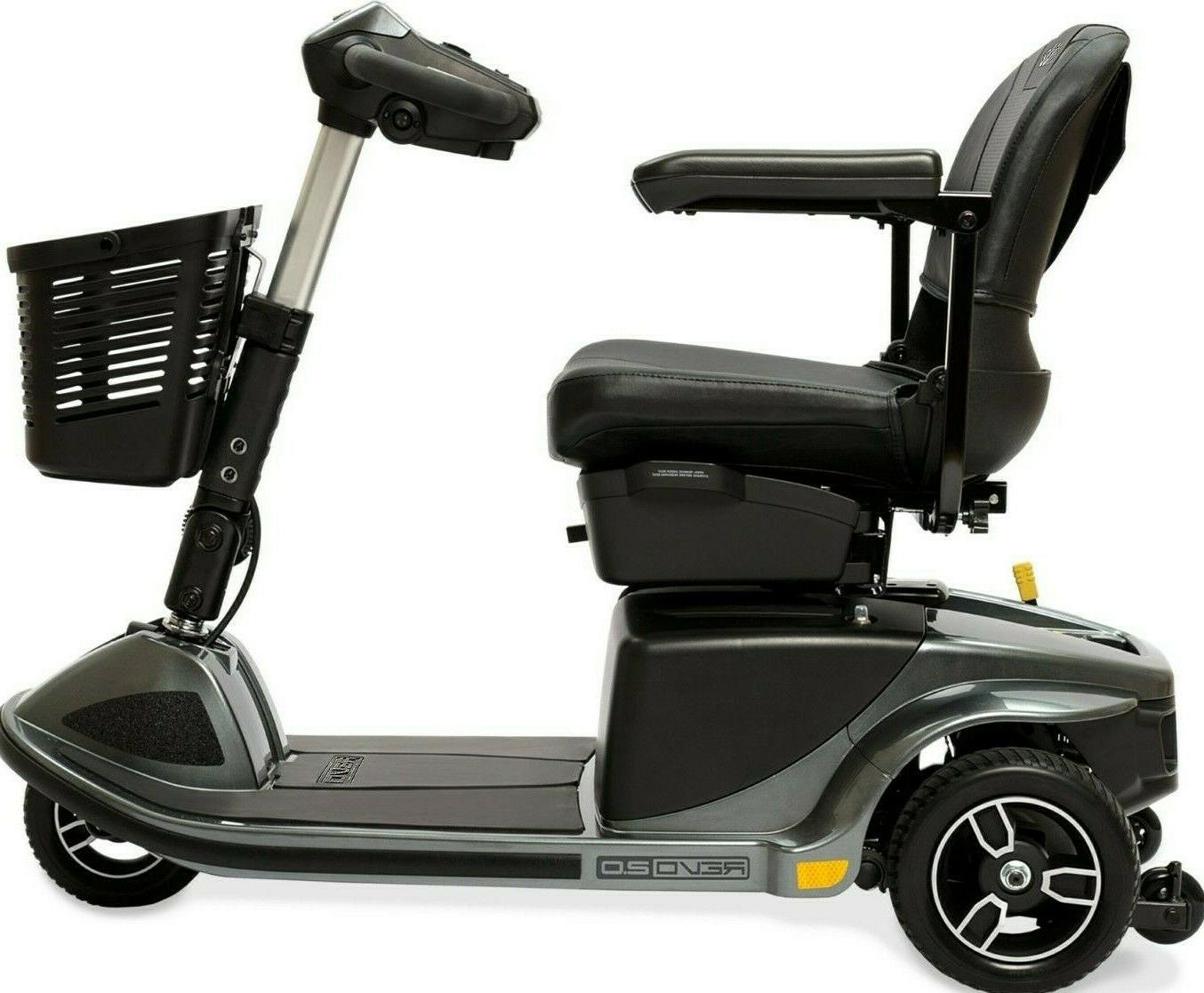 Pride 3W Power Electric 375lbs. WC + Accessories