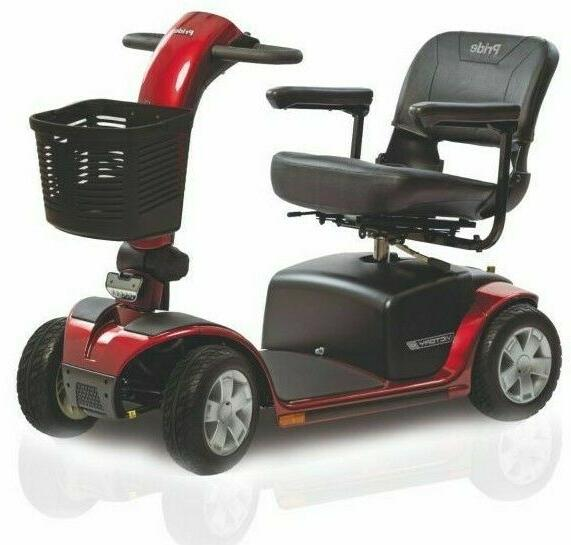 pride mobility victory 10 4 wheel power