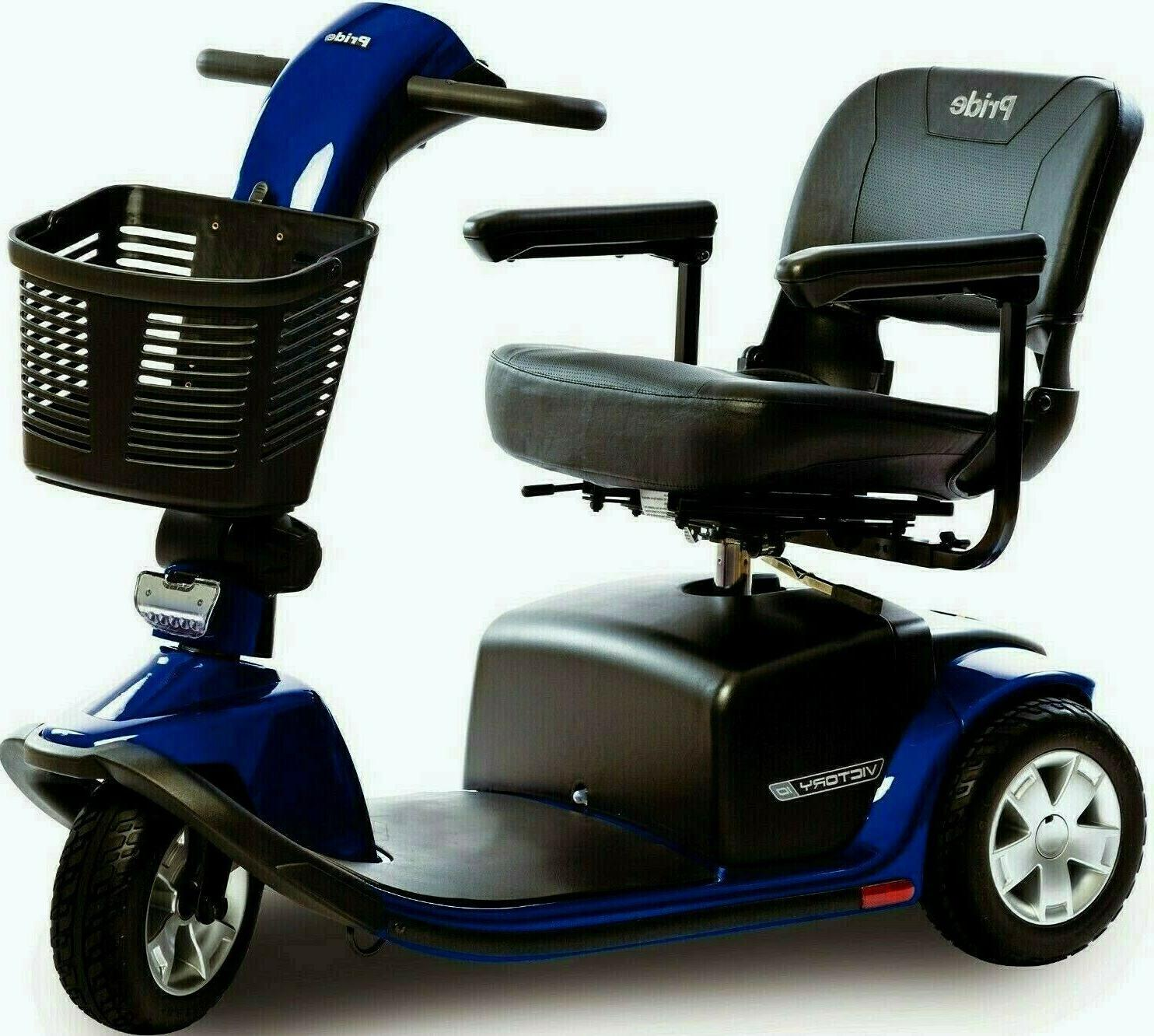 Pride Mobility NEW 3-Wheel Power