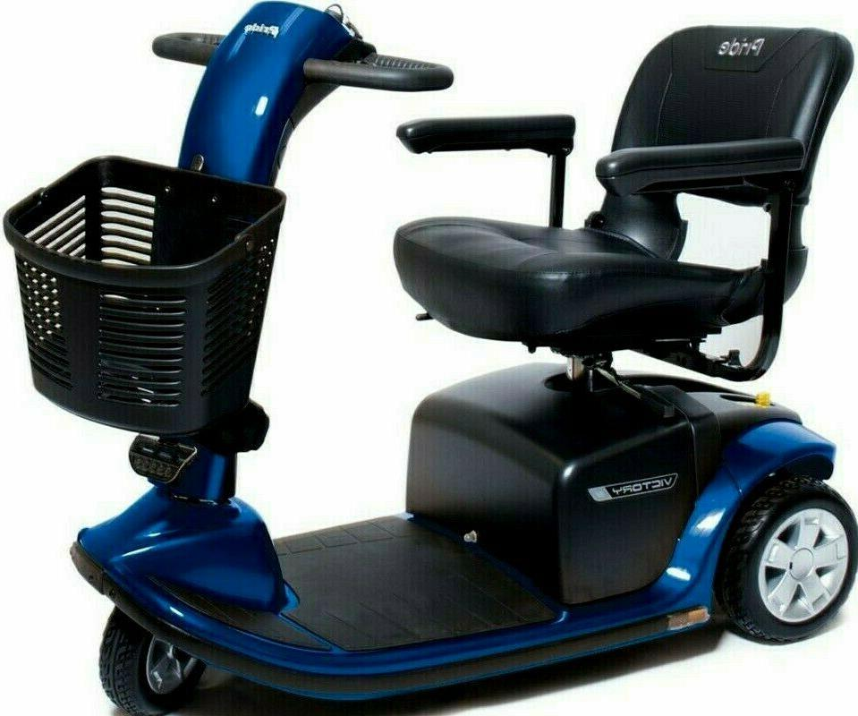 Pride Mobility 3-Wheel Electric Scooter SC609