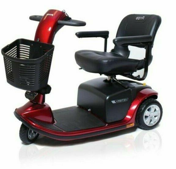 pride mobility victory 9 3 wheel new