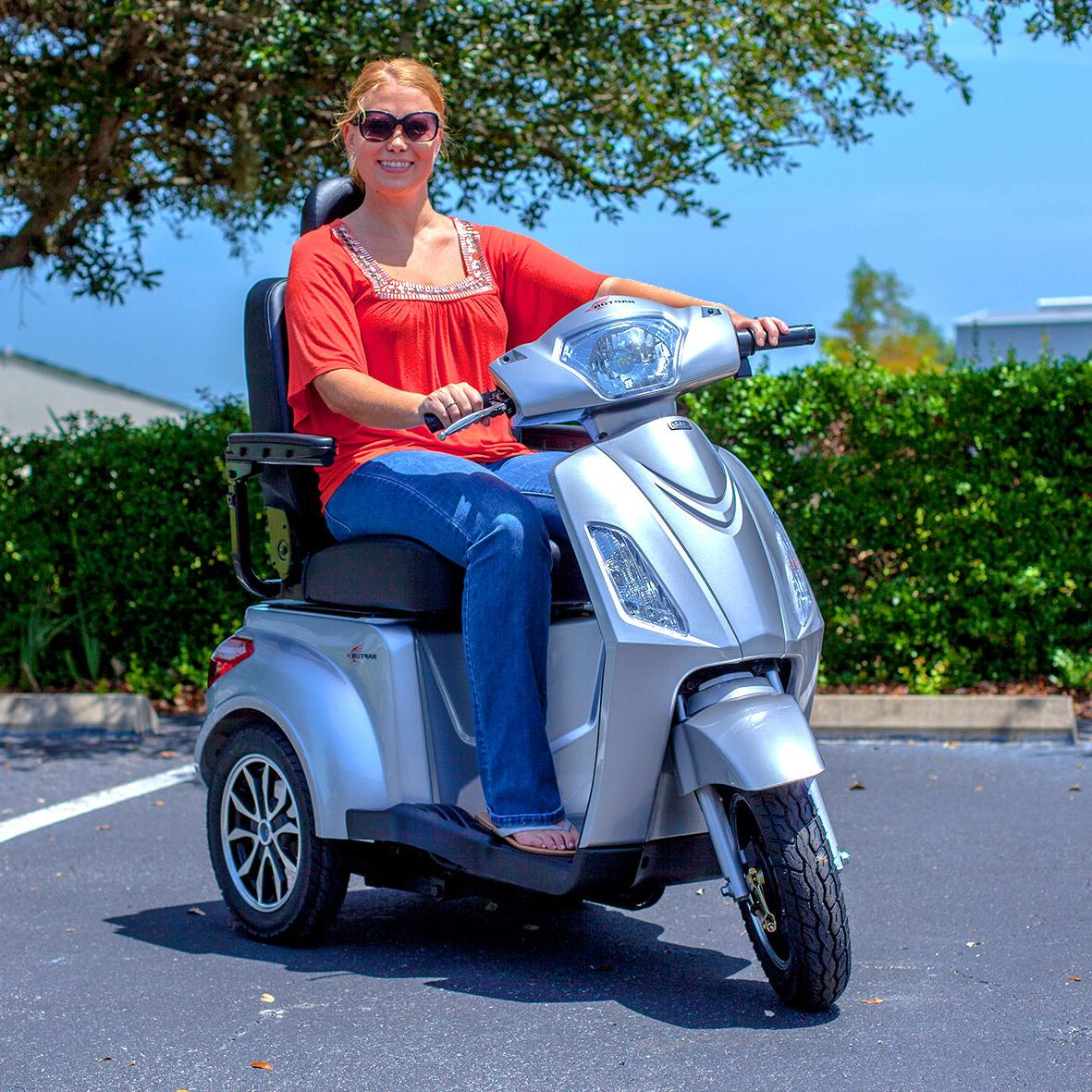Pride Recreational Mobility Scooter Safety