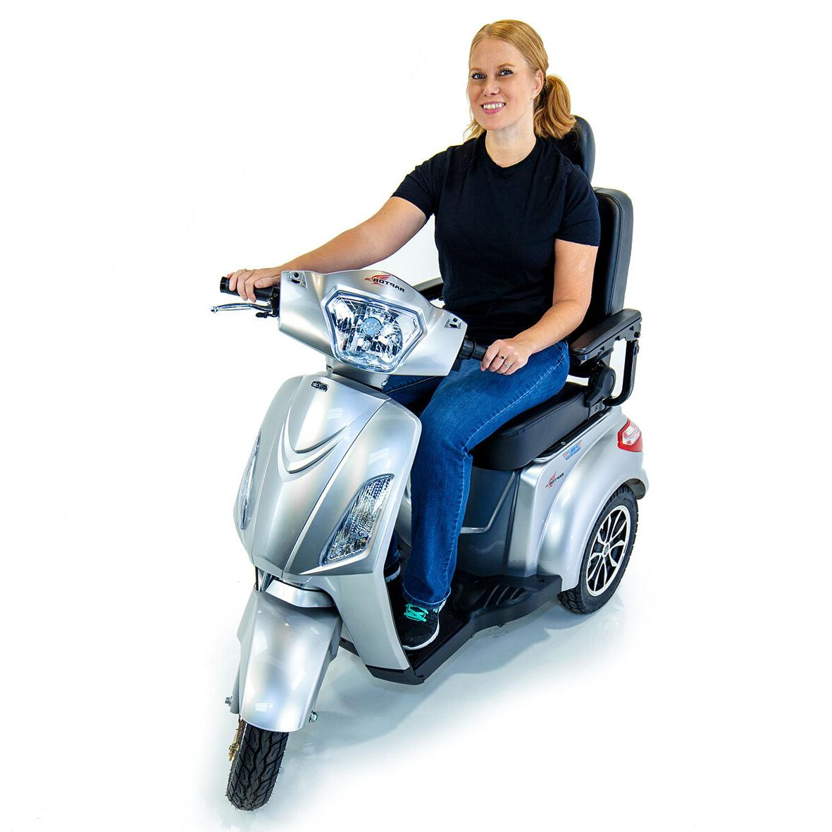 Pride RAPTOR Recreational Power Mobility Scooter w/ Electric Safety Brakes