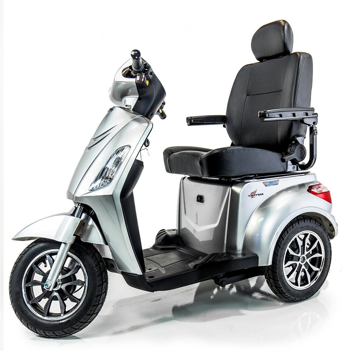 pride raptor recreational power mobility scooter w
