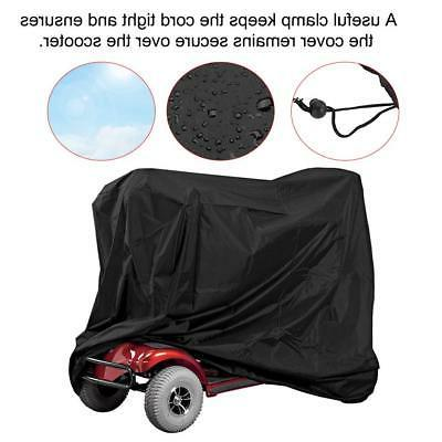 Professional Eldly Mobility Scooter Storage Cover Rain Water