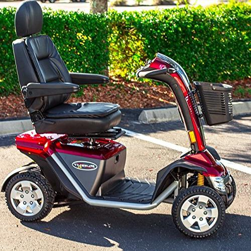 Pride PMV Electric Scooter RED