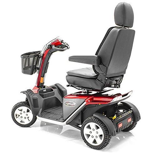 Pride Mobility XL PMV Scooter RED