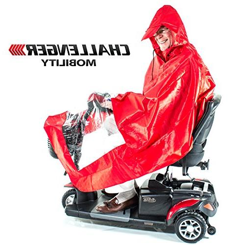 Challenger Mobility Poncho Cape,