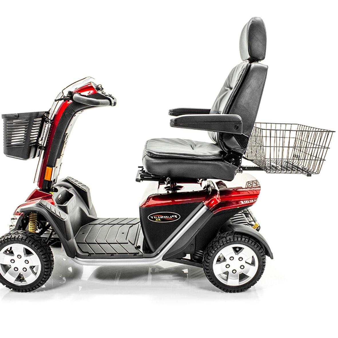 XL REAR BASKET Challenger Mobility Pride, Golden, Drive Scooter