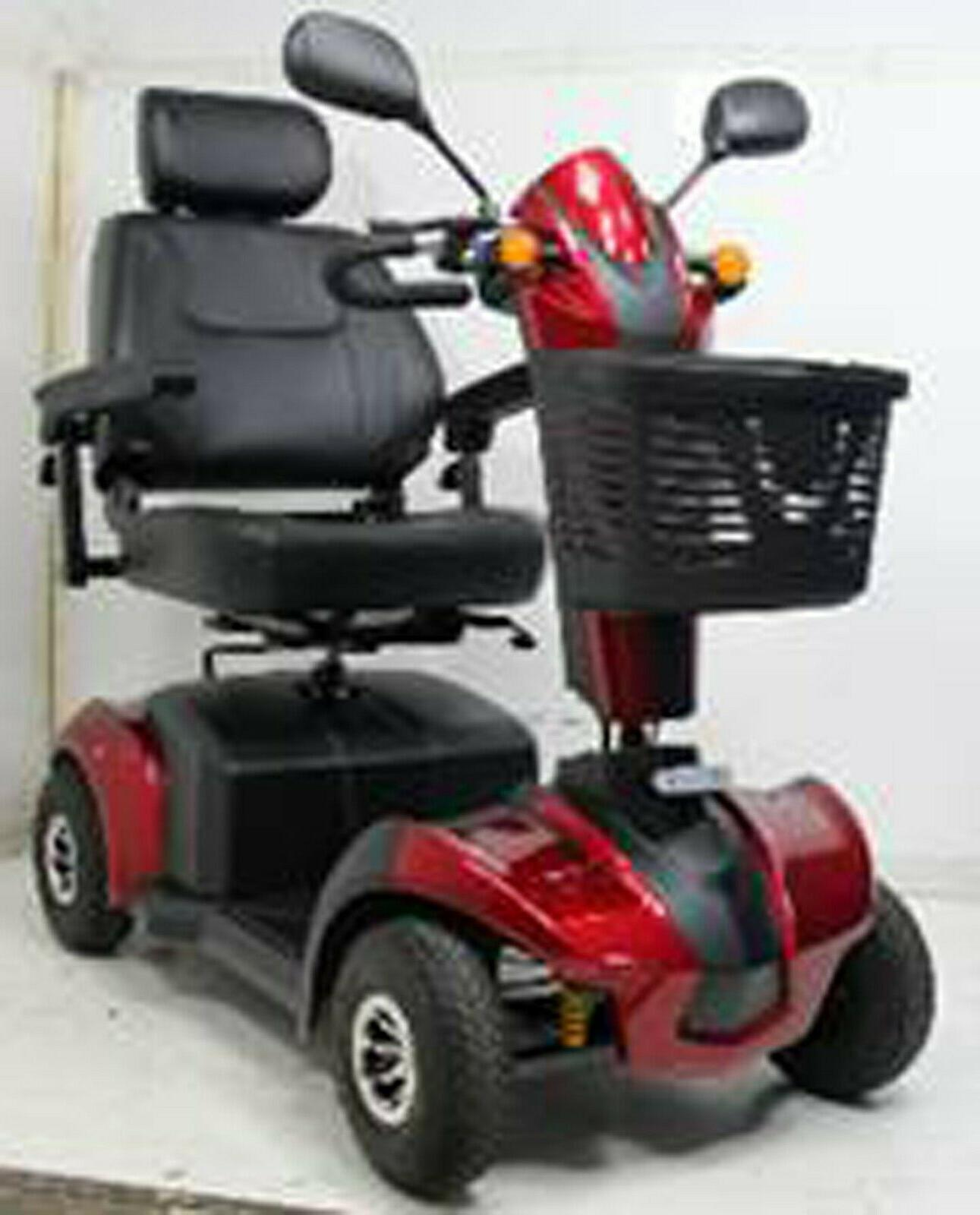 RED Mobility Scooter, 350 Cap, Mile Seat, EVRider
