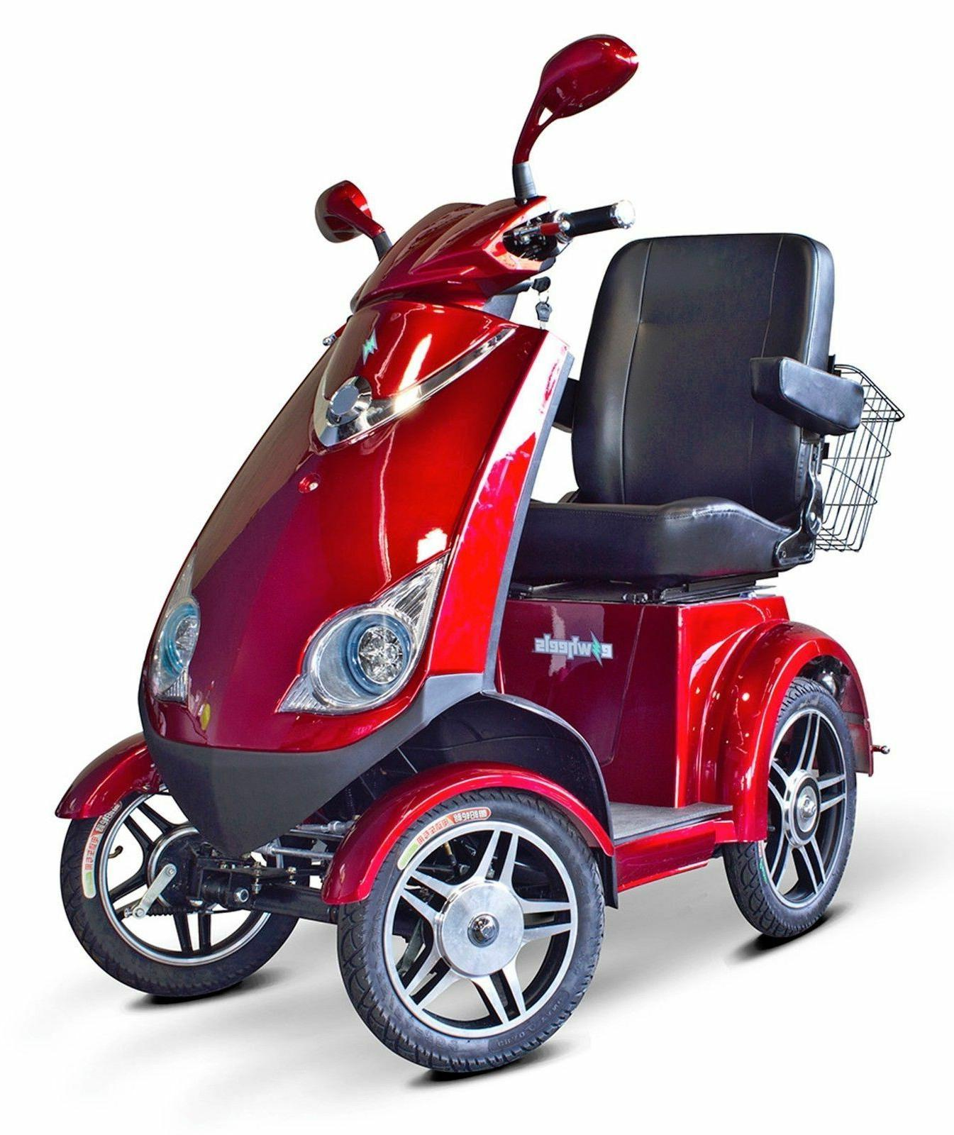 EWheels 4 Wheel Heavy Duty EW 72 Scooter
